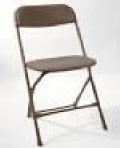 Where to rent CHAIR, BROWN PLASTIC in Green Bay WI