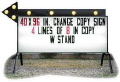 Where to rent 4 X8 LIGHTED SIGN- TOWABLE in Green Bay WI